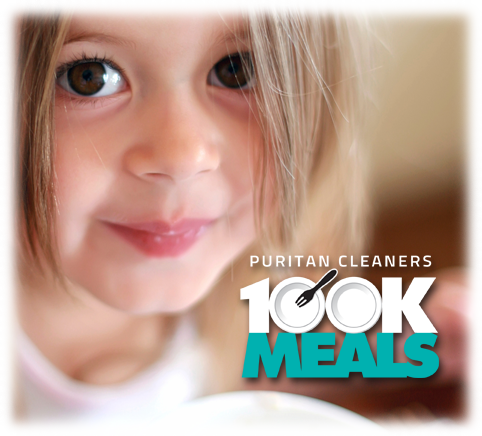 Puritan Cleaners 100K Meals Campaign