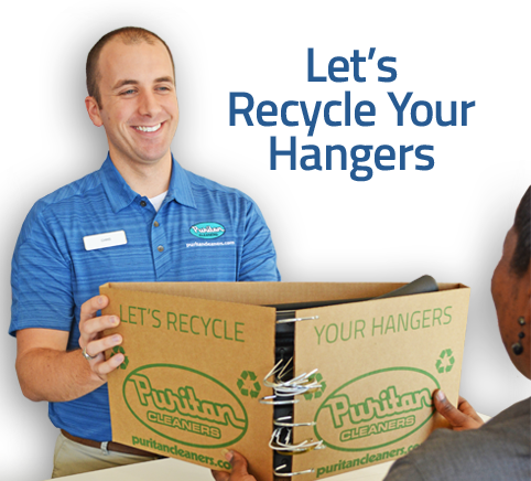 Hanger Recycling at Puritan Cleaners