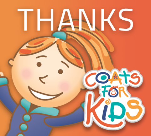 Coats For Kids program at Puritan Cleaners