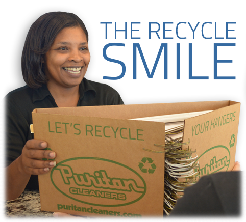 Puritan Cleaners recycles