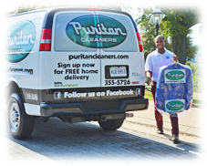 Free Home Delivery at Puritan Cleaners