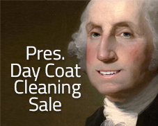 Puritan Cleaners Presidents Day Coat Cleaning Sale