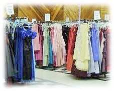 Cinderella Dreams gowns ready to go