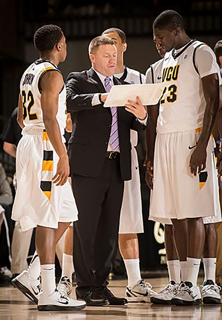 VCU Basketball's Mike Rhoades for Puritan Cleaners