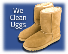 Puritan Cleaners cleans uggs