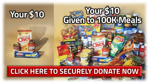 Donate to Puritan Cleaners 100K Meals program