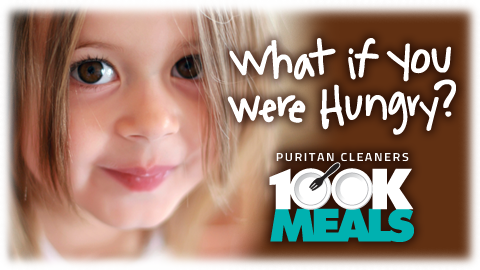 Puritan Cleaners' 100K Meals Campaign