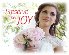 Puritan Cleaners cleans and preserves wedding and bridal gowns