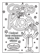 Puritan Cleaners Coats For Kids coloring page