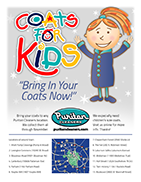 Puritan Cleaners Coats For Kids Flyer