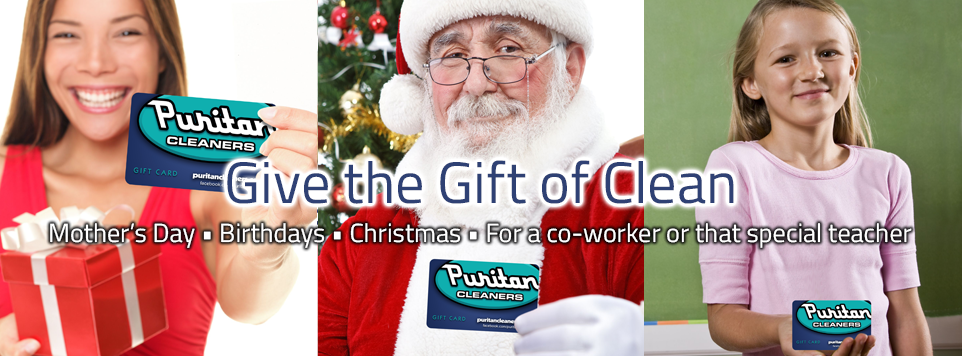 Puritan Cleaners gift cards