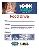Puritan Cleaners 100K Meals Program sheet