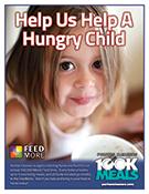 Puritan Cleaners 100K Meals Program poster