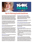 Puritan Cleaners 100K Meals Program planning tips