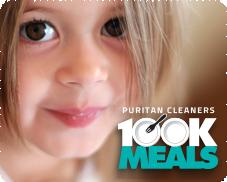 Puritan Cleaners 100K Meals to benefit FeedMore