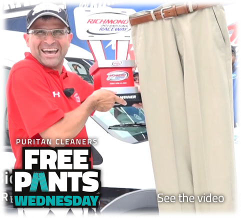Free Pants Wednesday at Puritan Cleaners