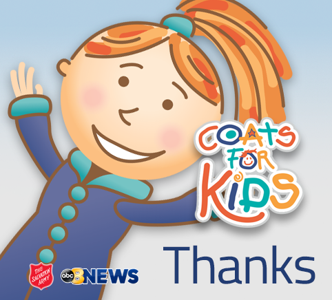 Coats For Kids at Puritan Cleaners