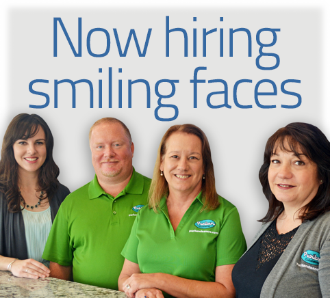 Puritan Cleaners is now hiring smiling faces