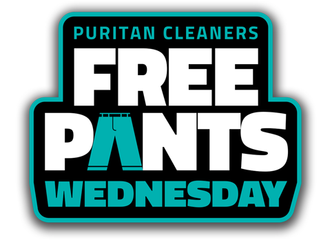 Free Pants Wednesday from Puritan Cleaners