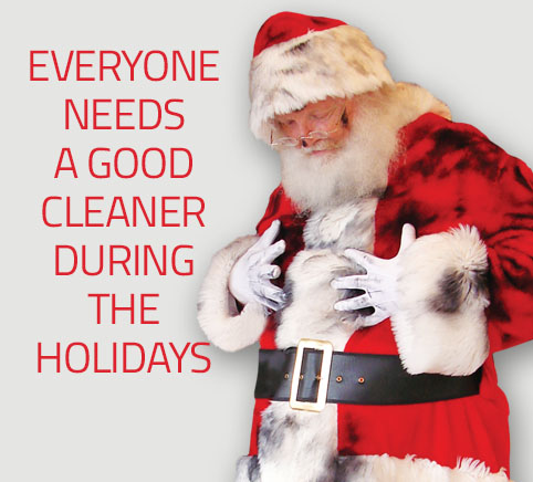 Santa Claus loves Puritan Cleaners