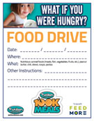 Puritan Cleaners 100K Meals Food Drive flyer