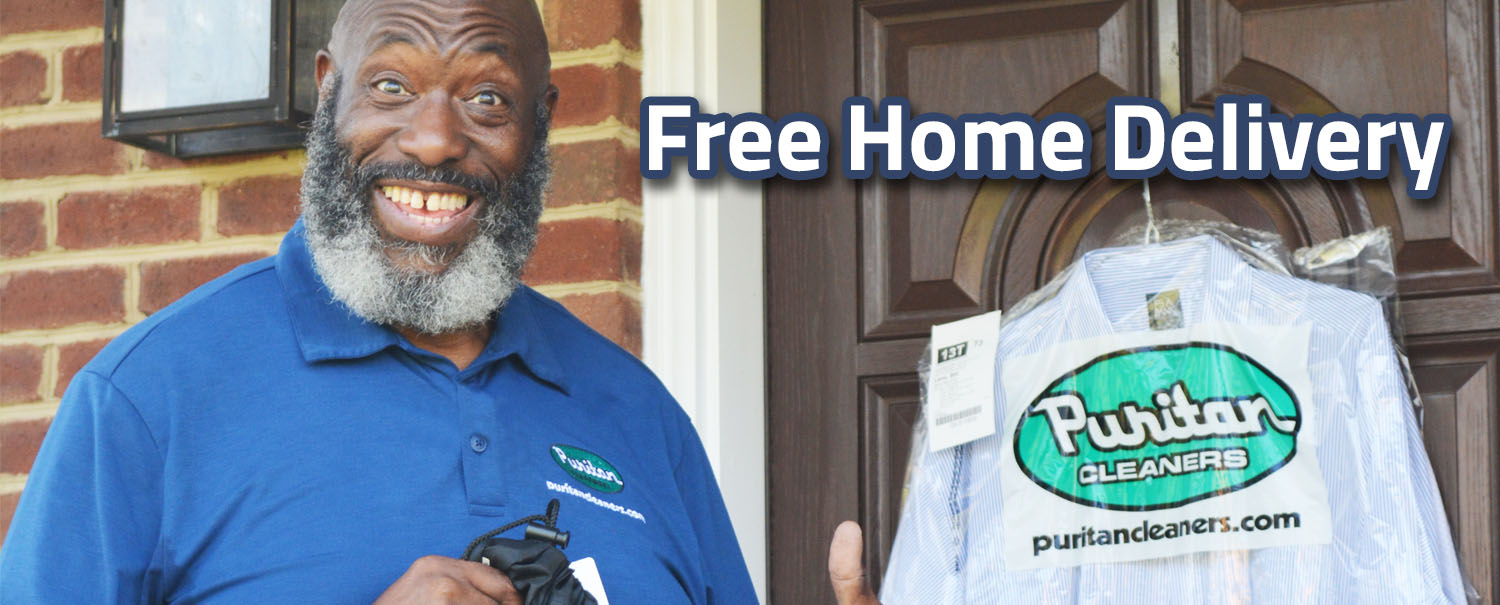 Free Home Delivery from Puritan Cleaners