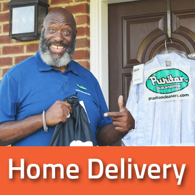 Home Delivery service from Puritan Cleaners