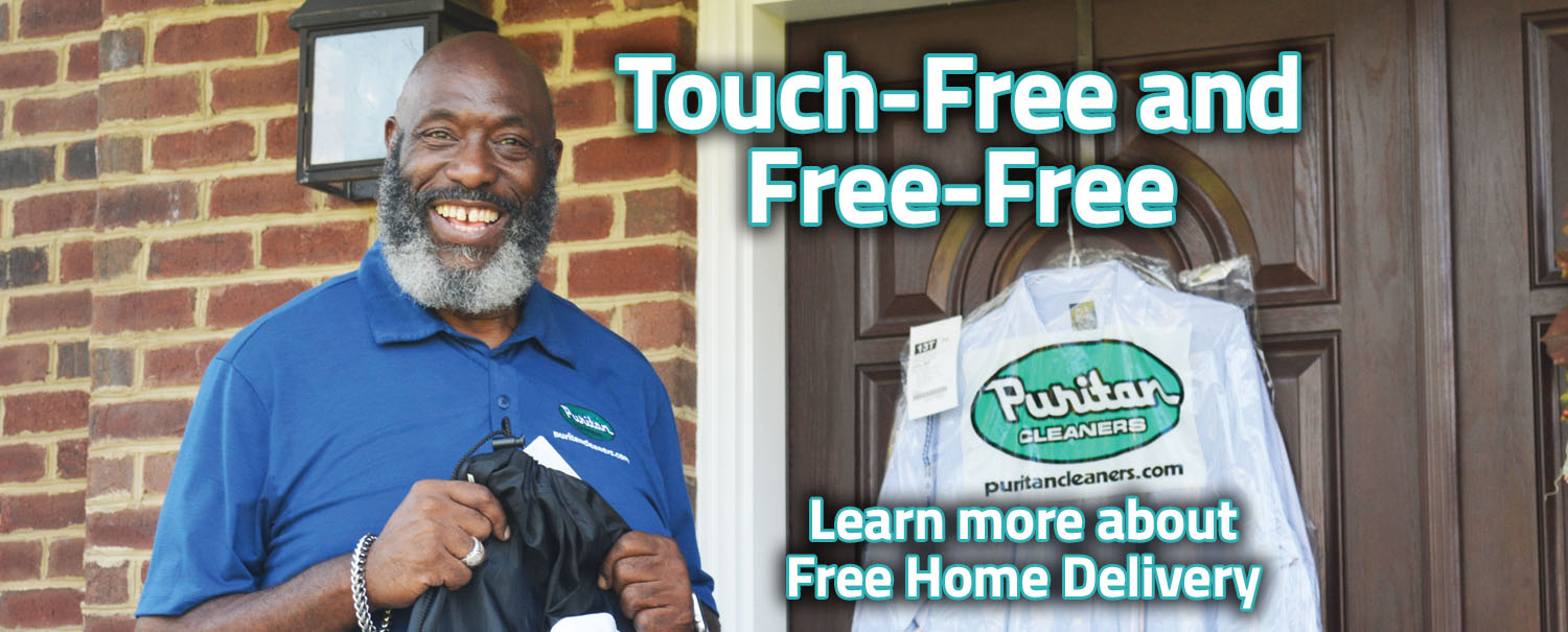 Puritan Cleaners Free Home Pick Up & Delivery