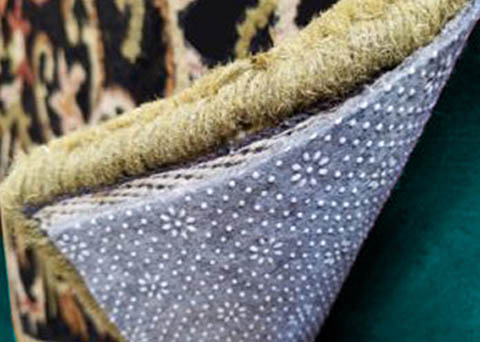 Rug padding from Puritan Cleaners by Greenspring